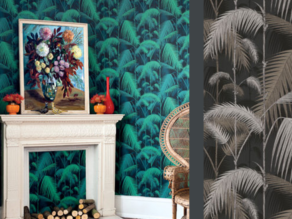 CONTEMPORARY RESTYLED PALM JUNGLE